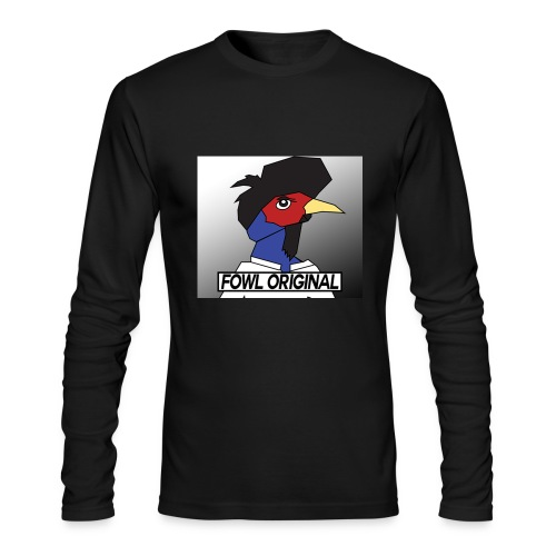 Fowl Original Logo - Men's Long Sleeve T-Shirt by Next Level