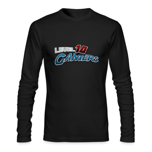 Level10Gamers Logo - Men's Long Sleeve T-Shirt by Next Level