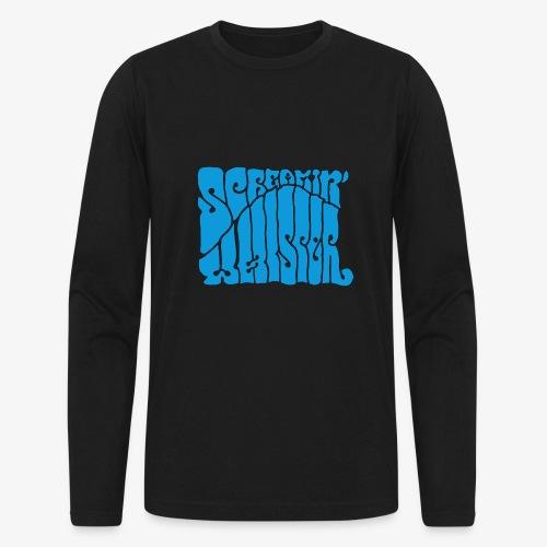 Screamin' Whisper Retro Logo - Men's Long Sleeve T-Shirt by Next Level
