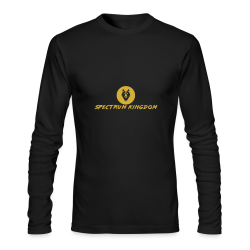 Spectrum Kingdom Gold Logo - Men's Long Sleeve T-Shirt by Next Level