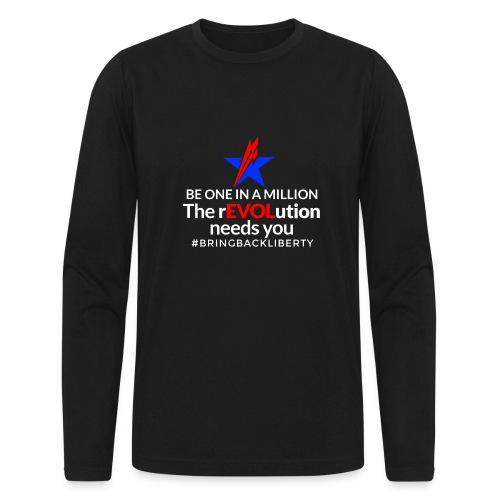 WILDMAIN2 - Men's Long Sleeve T-Shirt by Next Level