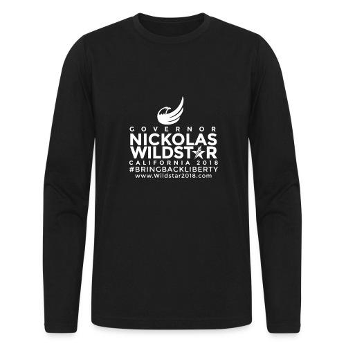 WILDMAIN1 - Men's Long Sleeve T-Shirt by Next Level