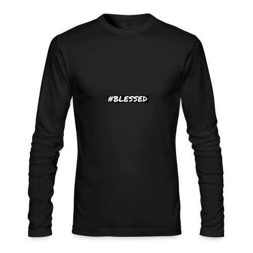 #BLESSED - Men's Long Sleeve T-Shirt by Next Level