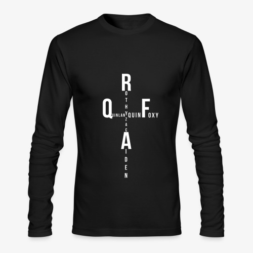Rothy Quinlan foxy Aiden Zac quin logo - Men's Long Sleeve T-Shirt by Next Level