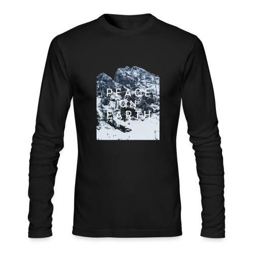 PEACE ON EARTH - Men's Long Sleeve T-Shirt by Next Level