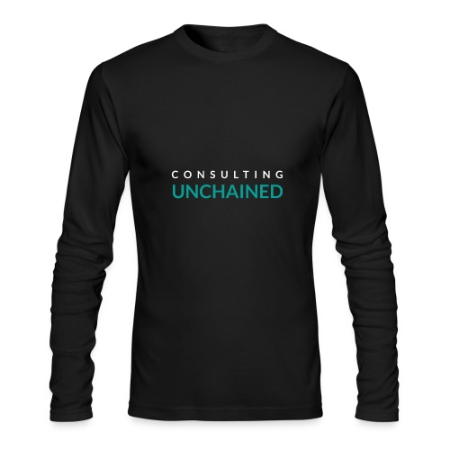 Consulting Unchained - Men's Long Sleeve T-Shirt by Next Level