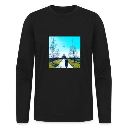 Plug walk chory records - Men's Long Sleeve T-Shirt by Next Level