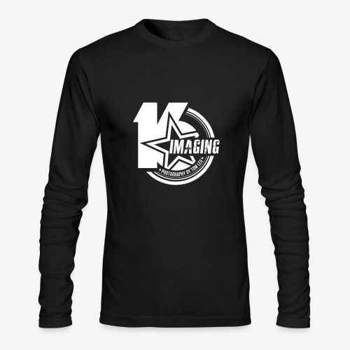 16 Badge White - Men's Long Sleeve T-Shirt by Next Level
