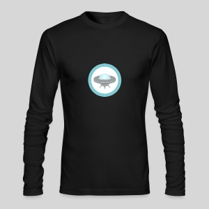 ALIENS WITH WIGS - Small UFO - Men's Long Sleeve T-Shirt by Next Level