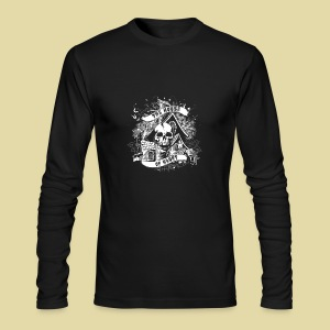 hoh_tshirt_skullhouse - Men's Long Sleeve T-Shirt by Next Level
