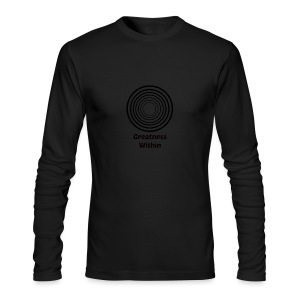 Greatness Within - Men's Long Sleeve T-Shirt by Next Level