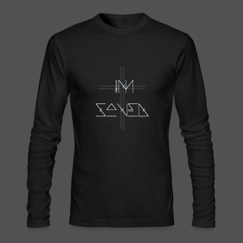 I'm Saved - Men's Long Sleeve T-Shirt by Next Level