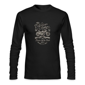 Vintage Motorcycle Club - Men's Long Sleeve T-Shirt by Next Level