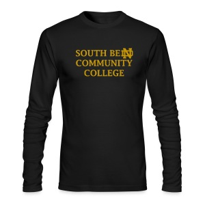 Notre Dame Community College - Men's Long Sleeve T-Shirt by Next Level