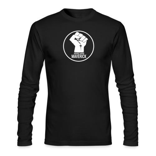 Seacret Agent Maverick - Black Shirts - Men's Long Sleeve T-Shirt by Next Level