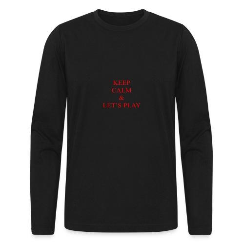 Keep Calm & Let's Play Merch - Men's Long Sleeve T-Shirt by Next Level