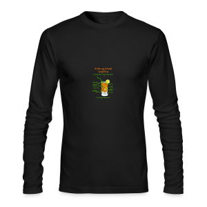 Schlong Island Iced Tea - Men's Long Sleeve T-Shirt by Next Level