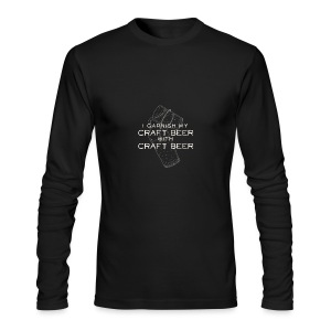 I Garnish my Craft Beer with Craft Beer - Men's Long Sleeve T-Shirt by Next Level