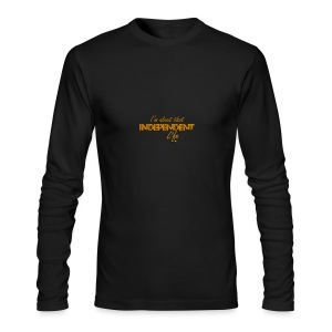 The Independent Life Gear - Men's Long Sleeve T-Shirt by Next Level