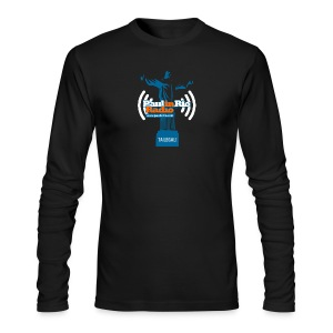 Paul in Rio Radio - The Thumbs up Corcovado #2 - Men's Long Sleeve T-Shirt by Next Level