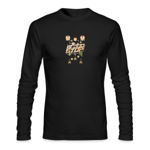 Brood Stop: Pew Pew Pew - Men's Long Sleeve T-Shirt by Next Level