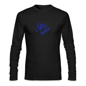 S.illyApparel Dodger Blue - Men's Long Sleeve T-Shirt by Next Level
