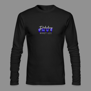 DETECTING ENVY TITLE - Men's Long Sleeve T-Shirt by Next Level