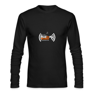 Paul in Rio Radio - Thumbs-up Corcovado #1 - Men's Long Sleeve T-Shirt by Next Level