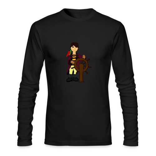 Alex the Great - Pirate - Men's Long Sleeve T-Shirt by Next Level