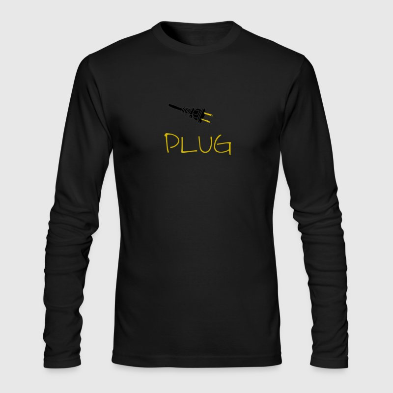 Plug Long Sleeve - Men's Long Sleeve T-Shirt by Next Level