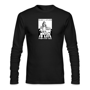 Make A Stand, Water is Life - Men's Long Sleeve T-Shirt by Next Level