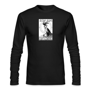 STOP DAPL Water Protector - Men's Long Sleeve T-Shirt by Next Level