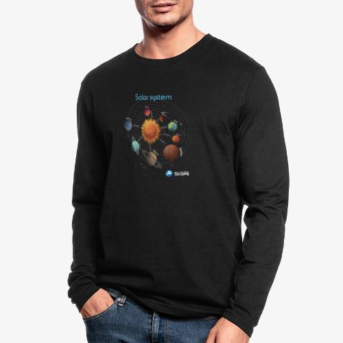Solar System Scope : Solar System - Men's Long Sleeve T-Shirt by Next Level