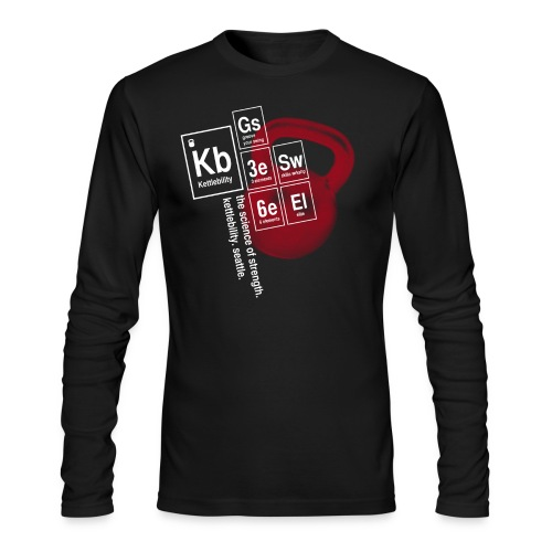 Table of Elements - Men's Long Sleeve T-Shirt by Next Level