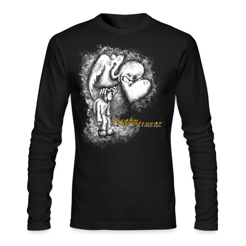 media victim - Men's Long Sleeve T-Shirt by Next Level