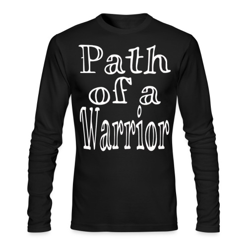 Path of a Warrior - Men's Long Sleeve T-Shirt by Next Level