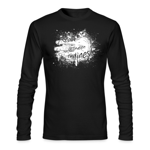 read between the lines - Men's Long Sleeve T-Shirt by Next Level