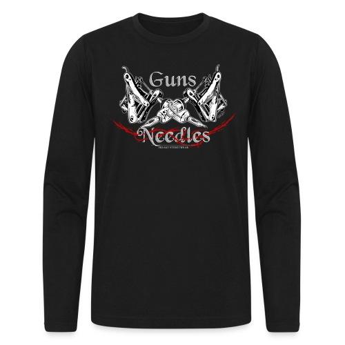 Guns & Needles - Men's Long Sleeve T-Shirt by Next Level