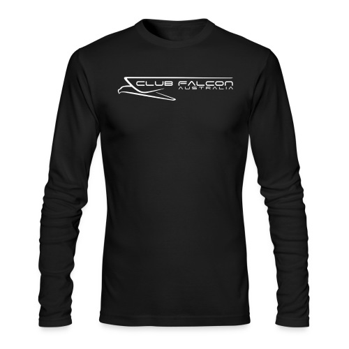 big logo png - Men's Long Sleeve T-Shirt by Next Level