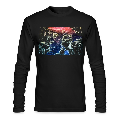 Space - Men's Long Sleeve T-Shirt by Next Level