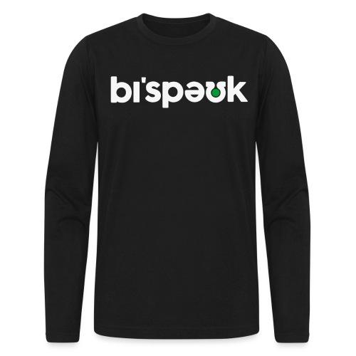 bespoke black tshirt png - Men's Long Sleeve T-Shirt by Next Level