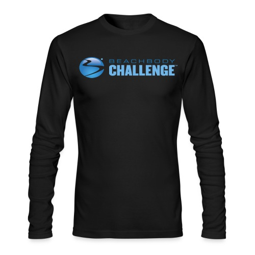 bb challenge png - Men's Long Sleeve T-Shirt by Next Level