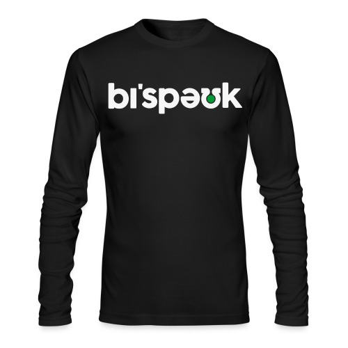 bespoke black tshirt png - Men's Long Sleeve T-Shirt by Next Level