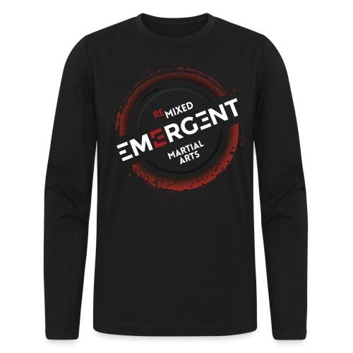 badge emergent back dark - Men's Long Sleeve T-Shirt by Next Level