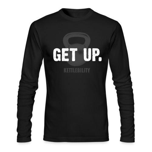 GET UP. - Men's Long Sleeve T-Shirt by Next Level