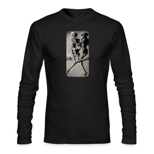 iphone skeletons - Men's Long Sleeve T-Shirt by Next Level
