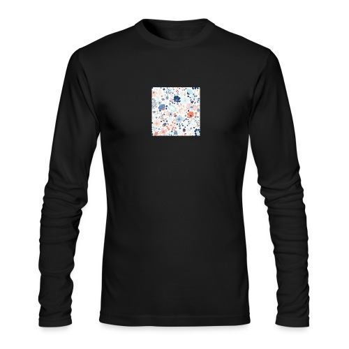 flowers - Men's Long Sleeve T-Shirt by Next Level