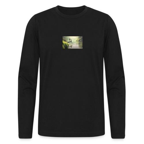 fishing - Men's Long Sleeve T-Shirt by Next Level