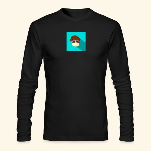 NixVidz Youtube logo - Men's Long Sleeve T-Shirt by Next Level