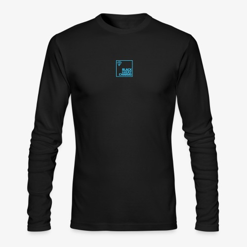 Black Luckycharmsshp - Men's Long Sleeve T-Shirt by Next Level
